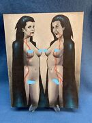 Vampire Twins By George Sportelli Original Art Commission Sketch 8.5x11 Signed