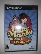 Cake Mania Baker's Challenge - Ps2 Game Complete Only One On Ebay Brand New