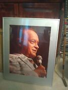 Autographed Picture Of Bob Hope From 1980's
