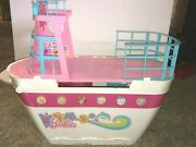 2011 Mattel Barbie Sisters Cruise Ship Double Decker Party Yacht, Boat W/ Pool