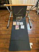 Fluidity Bar Fitness Exercise Barre W/dvd Ball Air Pump And Resistance Bands