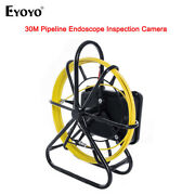 17mm Ip68 Wifi Industrial Pipe Endoscope Sewer Camera Drain 16g W/meter Counter