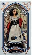 """New Disney Store Snow White In Rags Doll 17"""" Limited Edition Le Heirloom Rare"""