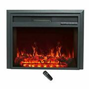C-hopetree Electric Fireplace Insert Portable Freestanding Heater With Remote...