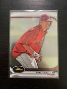 2012 Topps Finest Mike Trout 78 Mint