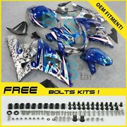 Airbrushed Fairings Bodywork Complete For Gsxr600 Gsxr750 01-03 79