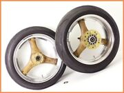 900ss 1993 Akron Marvic Magnesium Aluminum 2 Piece Wheel Front And Rear Set Yyy