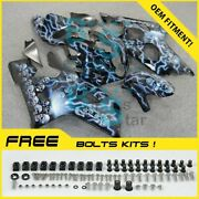 Airbrushed Fairings Bodywork Complete For Gsxr 600 750 2004-2005 103