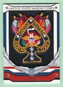 2008 Topps Football United States Marine Corps Patches Hrp-ms - Spade