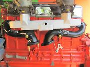 1955-1962 Chevy 235 261 Throttle Linkage Used With Fenton Headers And Dual Intake