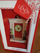 Ornament Lenox 2020 Annual Welcome Home Door Wreath Porcelain Christmas Tree New