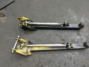 Traction Bars Lower Lakewood Adjustable Chevelle A Body Gm 12 Bolt Posi