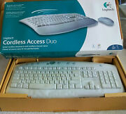 Logitech Cordless Access Duo, Keyboard And Mouse.