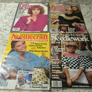 Vintage 1980-90's Needlework Magazines Mccall's Good Housekeeping Bh And G