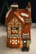 Dept 56 Dickens Village Bumpstead Nye Cloaks And Canes Euc With Box 58084