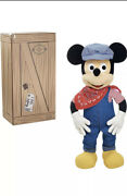 Disney Treasures From The Vault Limited Edition Engineer Mickey Mouse Giant 36
