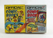 Official Price Guide To Comic Books Lot House Of Collectibles 1984 1985 Vintage
