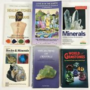 6 Book Lot Love Is In The Earth A Kaleidoscopic Of Crystals Rocks Minerals Gems