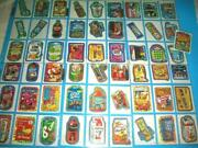 2011 Wacky Packages All New Series 8 {ans8} Silver Flash Flash Set Very Rare