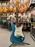 Used Fender Classic Series And03960s St Type -lake Placid Blue- 2013 Free Shipping