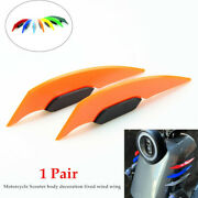 2andtimesmotorcycle Scooter Decoration Parts Fixed Body Side Stickers Accessories Kit