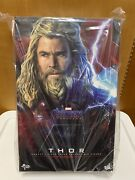 In Stock Hot Toys Mms557 Avengers Endgame 1/6 Thor Collectible Figures New