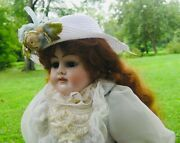 Antique Armand Marseille Alma Doll 23 Nicely Re-dressed In Antique Style