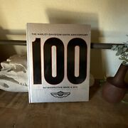First Edition Harley Davidson 100th Anniversary Coffee Table Book With Dvd