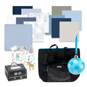 Creative Memories Lot Lace Flower Punch Scrapbook Tote Paper Ornament New