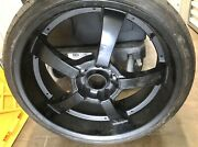 4 Universal Fit 5 Lug Rims And Low Profile Tires Tires Were Only Used 1 Summer
