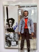 Clint Eastwood Signed Autograph Dirty Harry Photo And Collectible 12 Figure Loa