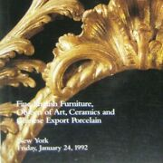 Christieand039s Catalog 1992 Fine English Furniture Chinese Export Porcelain 7140