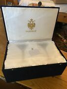 Pair Faberge Martini Glasses In Presentation Velvet Box Imperial Collection