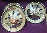 1964 Corvette Hubcaps Wheel Covers Stored For Over 50 Years Nice