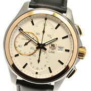 Tag Heuer Link Cat2050.fc6322 Chronograph Cal.16 Automatic Menand039s Watch_436757