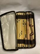 Vintage Fishing Pole Wright And Mcgill Eagle Claw Trail-master 8 Pc. Pack Rod Rare