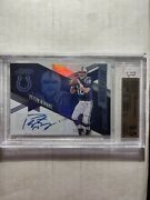 Peyton Manning 2016 Panini Absolute Marks Of Fame Numbers Auto /18 Bgs 9.5/10