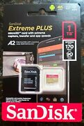 Sandisk Micro Sd Card 1tb Extreme Plus Memory Card