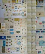 Israel Stamp Exhibitions Big Collection 114 Items Letters Philately Jewish 1945+