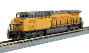 Kato N Scale Up Union Pacific Ac4400cw 6735 Low Nb Beveled Cab Dc New 176-7038