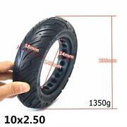 10 Inch 102.50 Electric Scooter Puncture-proof Tire Rubber Solid Tire 2021 Best