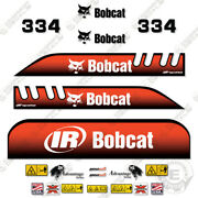 Bobcat 334 Decal Kit Mini Excavator Decals Replacement Kit Older Style