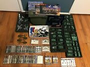 Flames Of War Collection Lot Battle Foam Case Tank Vehicles Infantry Anti Air +