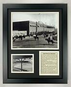 Legends Never Die Fenway Park In 1912 Collectible   Framed Photo Collage Wall...
