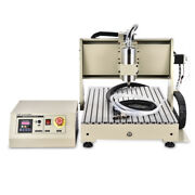 Usb 4 Axis 6040 Cnc Router Engraver 1.5kw Vfd Pcb Milling 3d Driiling Machine