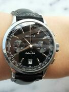 Eberhard Extra-fort 31951 Chronograph Automatic Date Mens 39mm Swiss Made