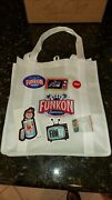 Funko Pop Hollywood Funkon 2021 Exclusive Official Swag Bag Stickers And Pins