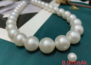 Almost Flawless Aurora 15-17.2mm Australian South Sea Pearl Necklace Japan Order