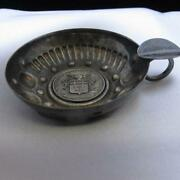 Vintage Silver Plated French Frigate Duguay Trouin Ash Tray 85.3g J765
