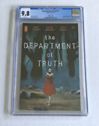 The Department Of Truth 1 Cgc 9.8 Variant Siktc Homage Cover